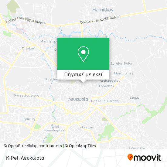K-Pet χάρτης