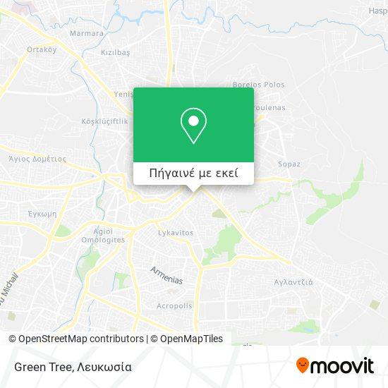 Green Tree χάρτης