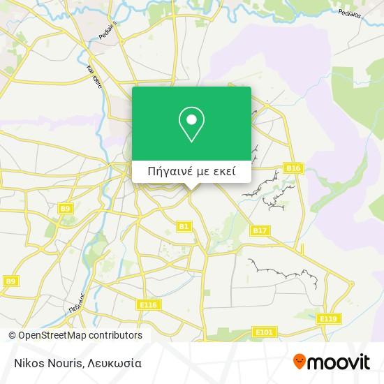 Nikos Nouris χάρτης