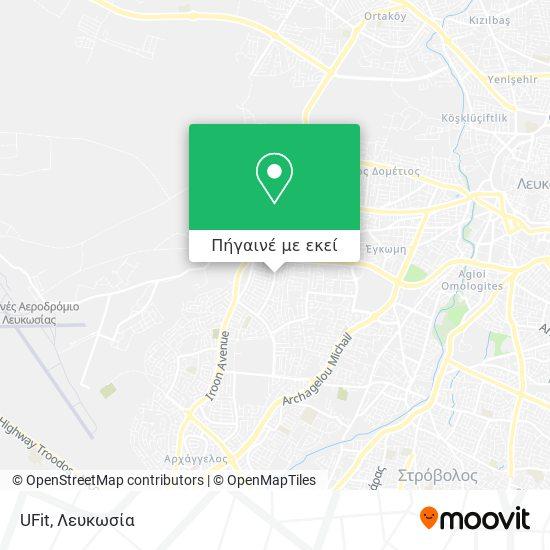 UFit χάρτης