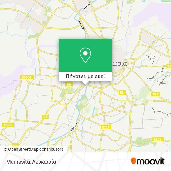Mamasita χάρτης