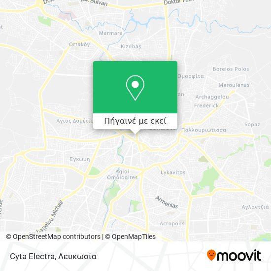 Cyta Electra χάρτης