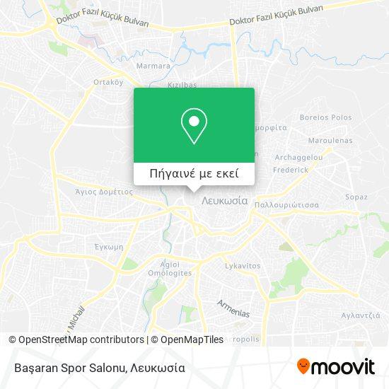 Başaran Spor Salonu χάρτης