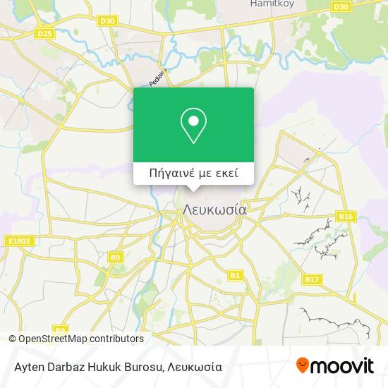 Ayten Darbaz Hukuk Burosu χάρτης