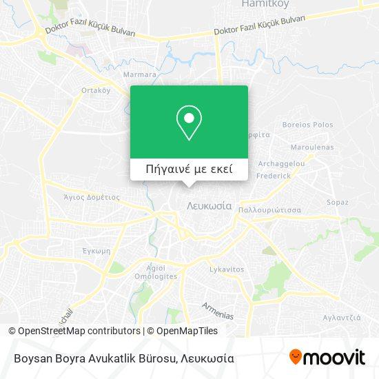 Boysan Boyra Avukatlik Bürosu χάρτης