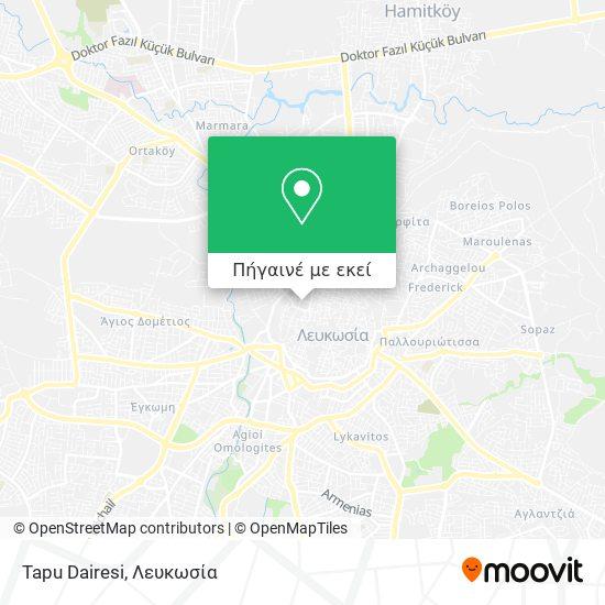 Tapu Dairesi χάρτης