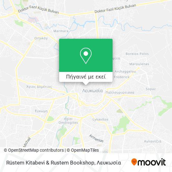 Rüstem Kitabevi & Rustem Bookshop χάρτης