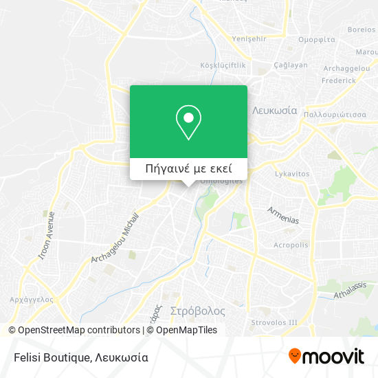 Felisi Boutique χάρτης