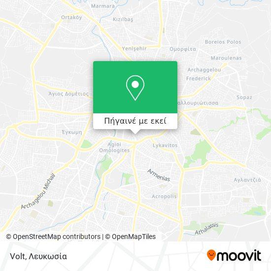 Volt χάρτης