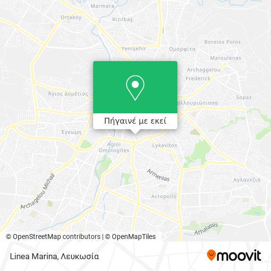 Linea Marina χάρτης
