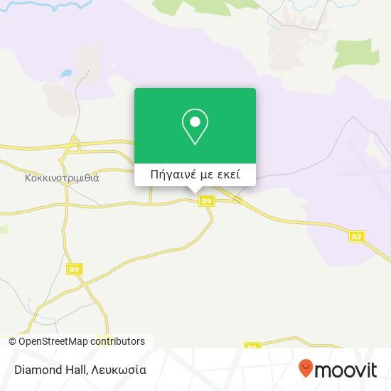 Diamond Hall χάρτης