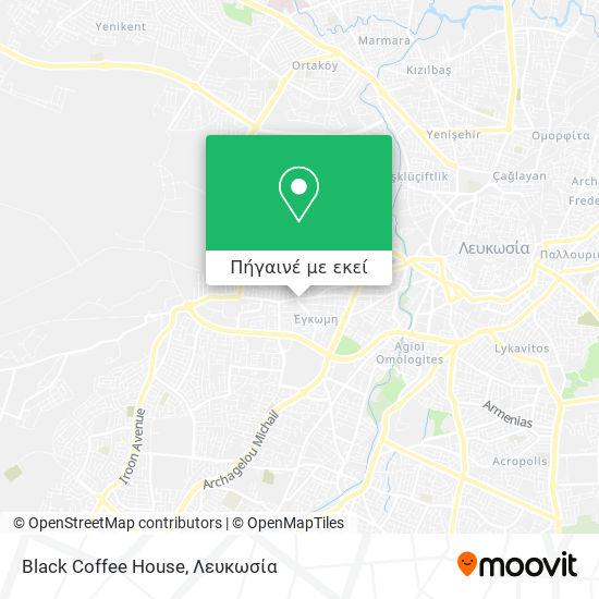 Black Coffee House χάρτης