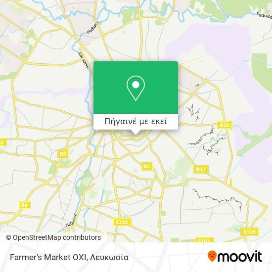 Farmer's Market OXI χάρτης