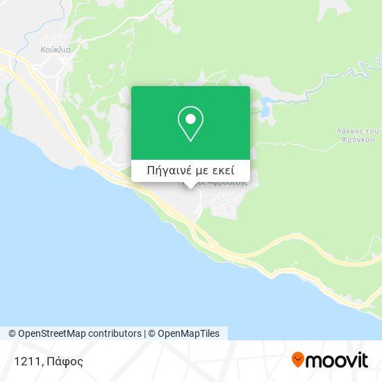 1211 χάρτης