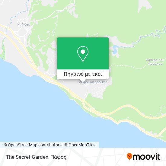 The Secret Garden χάρτης