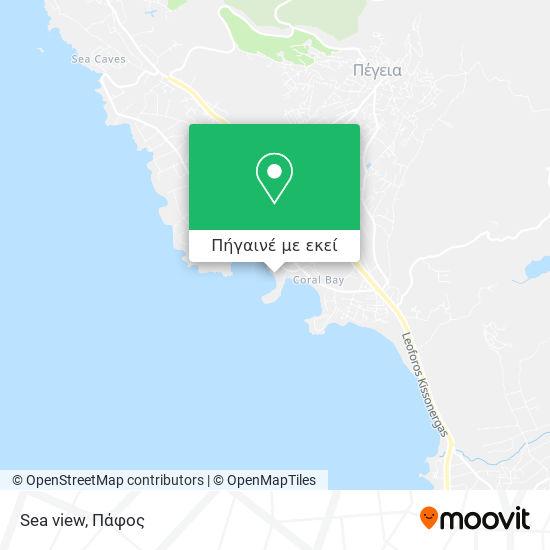 Sea view χάρτης