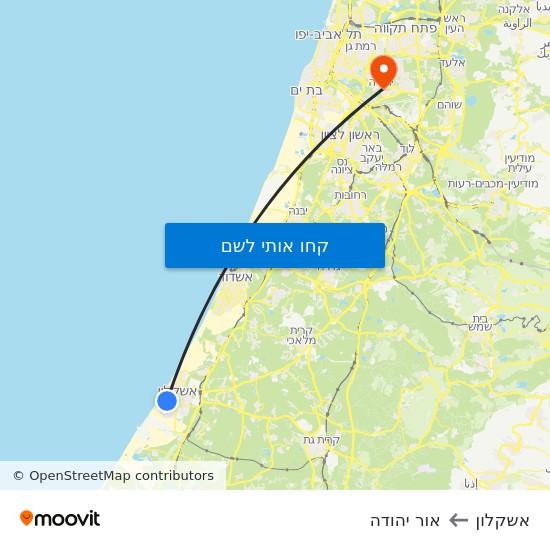 מפת אשקלון לאור יהודה