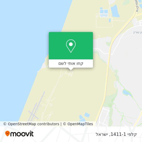 מפת קלפי 1411-1