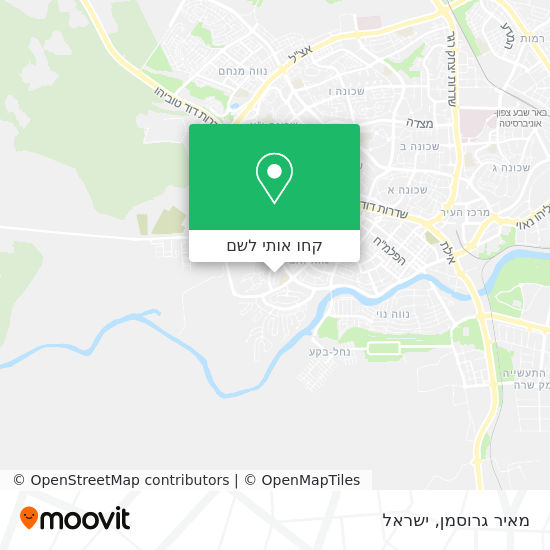 מפת מאיר גרוסמן