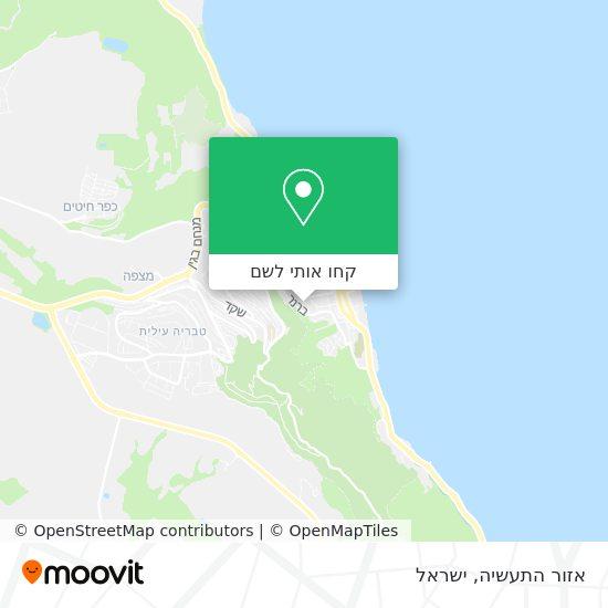 מפת אזור התעשיה