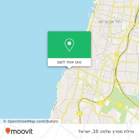 מפת טיילת מפרץ שלמה 10