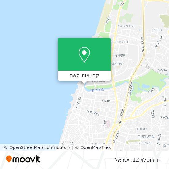 מפת דוד רוטלוי 12