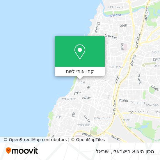 מפת מכון היצוא הישראלי