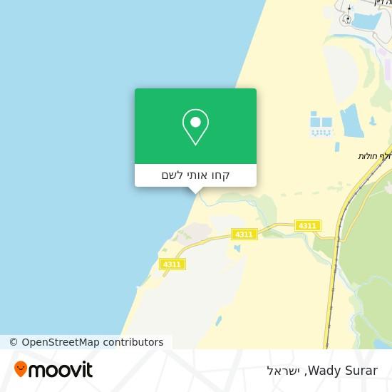 מפת Wady Surar