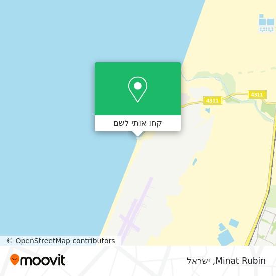 מפת Minat Rubin