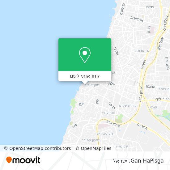 מפת Gan HaPisga