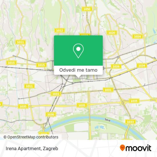 Karta Irena Apartment