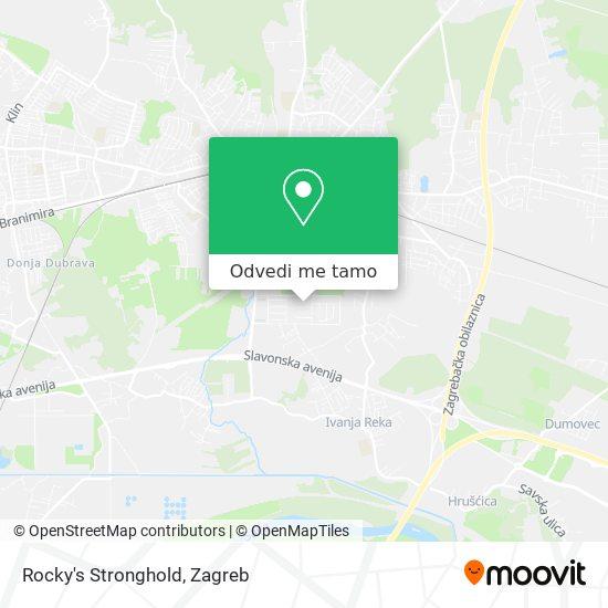 Karta Rocky's Stronghold