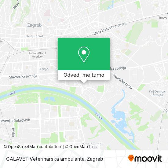 Karta GALAVET Veterinarska ambulanta