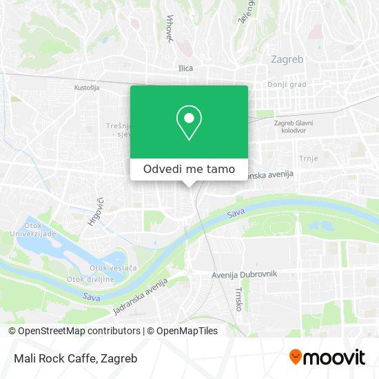 Karta Mali Rock Caffe