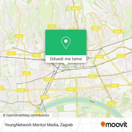 Karta YoungNetwork Meritor Media