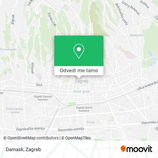 Karta Damask