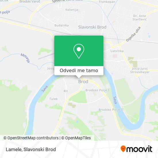 Karta Lamele