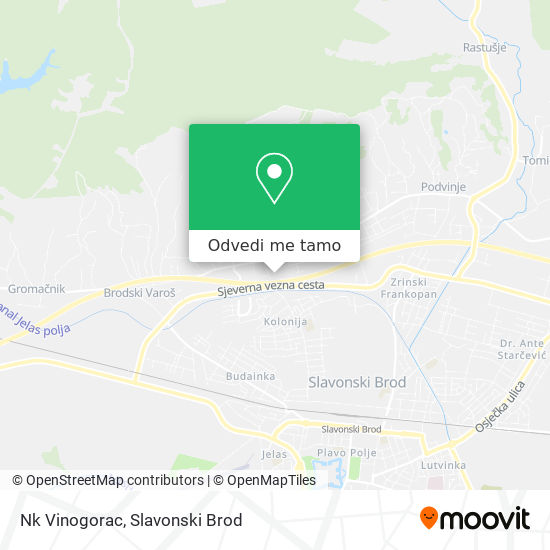 Karta Nk Vinogorac