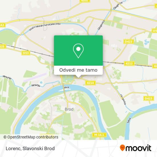 Karta Lorenc