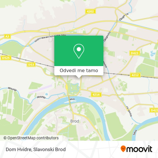 Karta Dom Hvidre