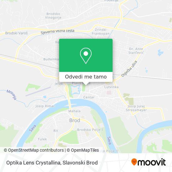 Karta Optika Lens Crystallina