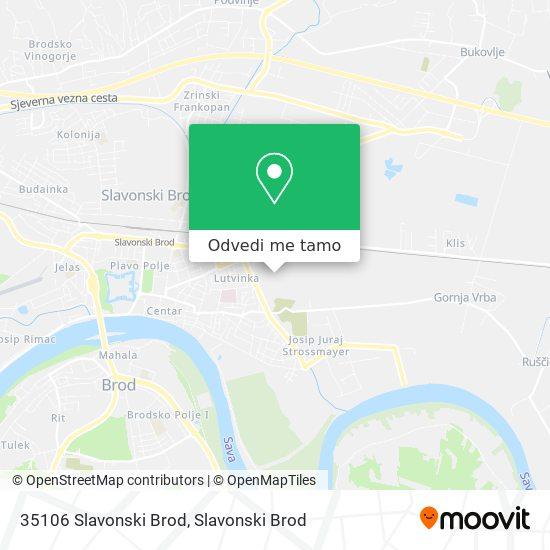 Karta 35106 Slavonski Brod