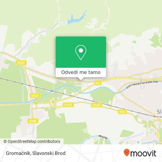 Karta Gromačnik