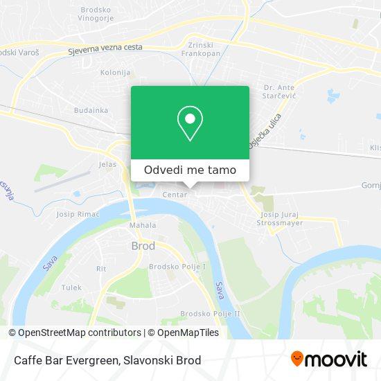 Karta Caffe Bar Evergreen