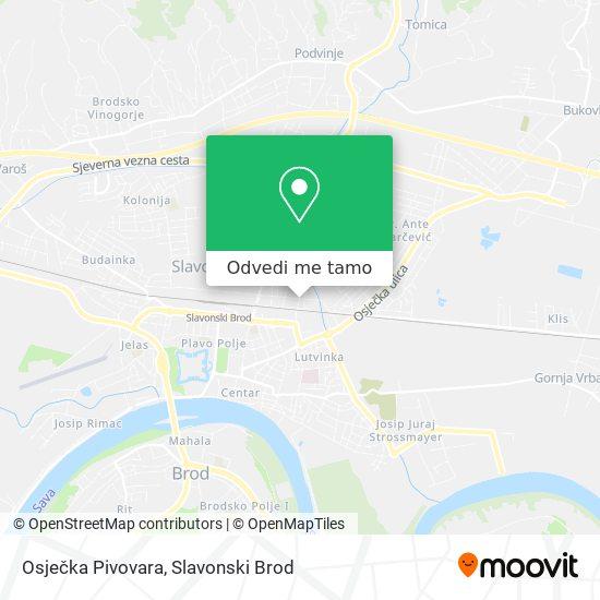 Karta Osječka Pivovara