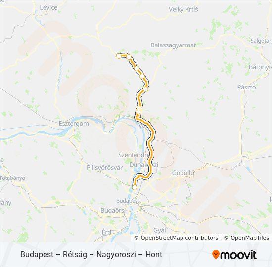 1014 Utvonal Menetrendek Megallok Es Terkepek Budapest Ujpest