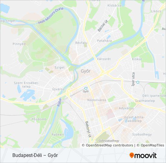 S10 Utvonal Menetrendek Megallok Es Terkepek Budapest Deli