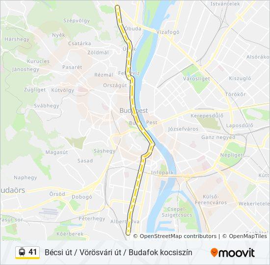 budapest térkép bécsi út 41 útvonal: Menetrendek, megállók és térképek budapest térkép bécsi út