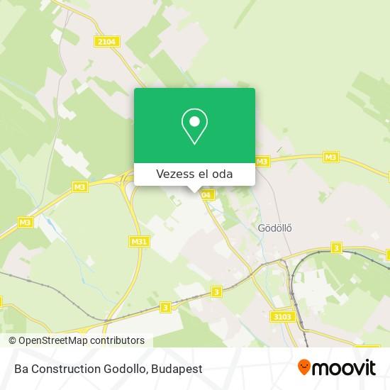 Ba Construction Godollo térkép