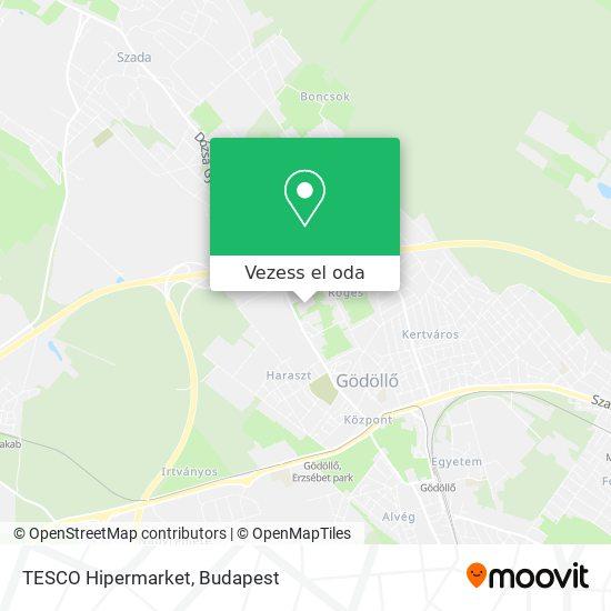 TESCO Hipermarket térkép